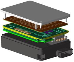 XFdtd simulates full automotive radar sensors.