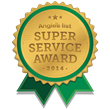 Brennan Enterprises Earns Esteemed 2014 Angie's List Super Service Award for Replacement Windows, Siding, and Outdoor Living