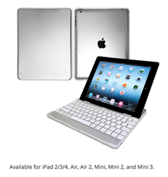 iPad Ultra Aluminum Keyboard Case