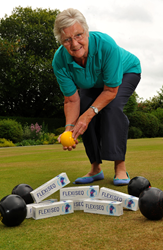 Bowls enthusiast empowered by FLEXISEQ to pursue the sport she loves