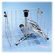 Miele 0 176/1 injector rack with lipoplasty instruments