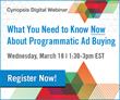 Cynopsis Digital Webinar on March 18 – Programmatic Ad Buying