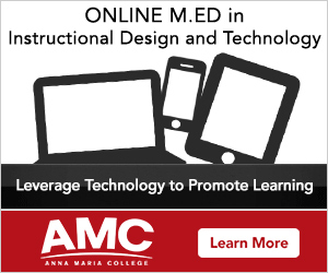 Anna Maria College Announces Master Of Education M Ed In Instructional Design And Technology Naming Update