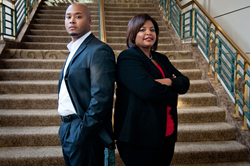 AreYouCheating.com co-founders Justice Johnson & Dr. Michelle Williams