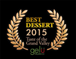 "Gelu Italian Ice of Grand Junction, Colo., won for ""best dessert/sweet creation"" at the 13th annual Taste of the Grand Valley."
