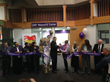 Jane Marquardt cuts ribbon at LGBT Resource Center