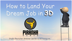 How to Land Your Dream Job in 3D