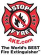 STOP-FYRE® - AKE Safety Equipment Logo