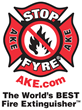 STOP-FYRE® - AKE Safety Equipment Logo