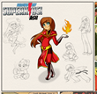 Ash Character Sketch Raising My SuperKids