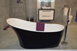 Lisna Waters Launches New Black Freestanding Baths Range at Self Build Show