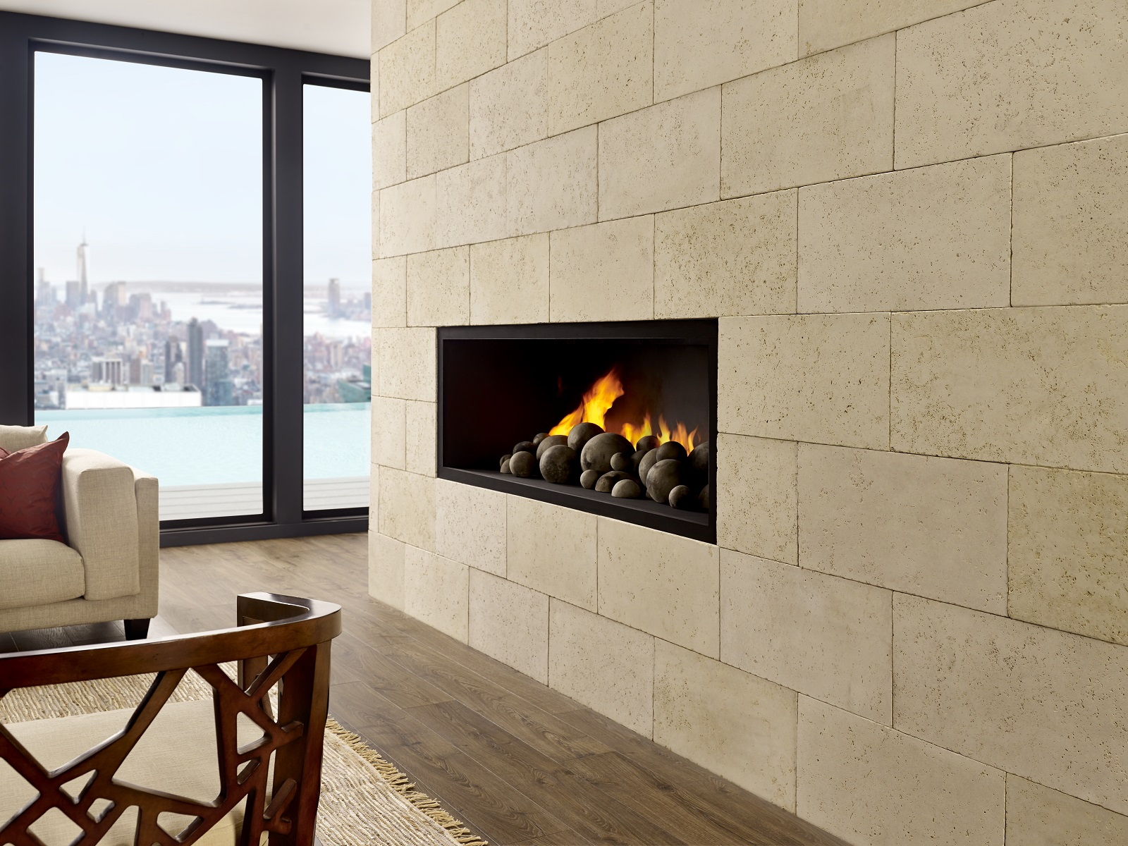 Eldorado stone introduces marquee limestone its largest for The most believable architectural stone veneer