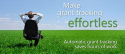Automatic grant tracking saves hours of work