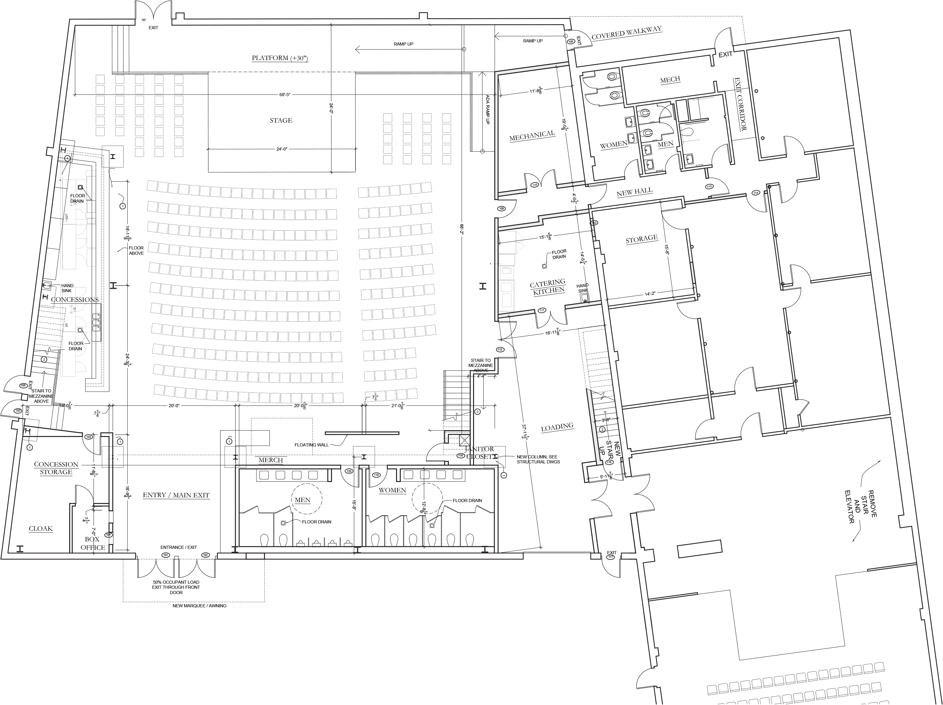 Warehouse blueprints fairfield theatre company announces new warehouse venue warehouse blueprint malvernweather Images
