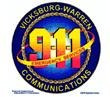 Vicksburg Warren 911 Logo