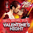 Valentine's Night Couples Wristband Special Offers Special Access to...