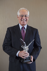 David Callies and the Crystal Eagle Award from the Owners' Counsel of America.