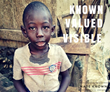 Supported Child in Haiti.  Known. Valued. Visible.