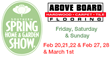 Above Board Flooring Shows Hottest Trend at the Southern Spring Home and Garden Show in Charlotte, NC