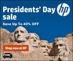 HP Presidents' Day Coupons