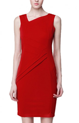 Red Dresses are Wardrobe Essentials for Women:Just a Touch of China Red