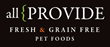 Allprovide Fresh Pet Foods