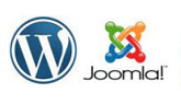 Comparison of Joomla and WordPress content management systems.
