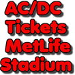 AC/DC Tickets at MetLife Stadium in East Rutherford, NJ:  Ticket Down...