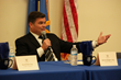 Panel Member Kevin Gallagher Esq., Answers Questions During the Open Forum Discussion