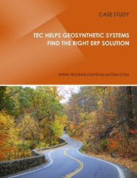 TEC Helps Geosynthetic Systems Find the Right ERP Solution