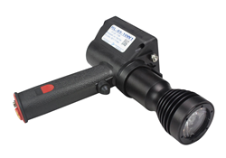 RL-85-10W1 Rechargeable Handheld Spotlight used to scout the land