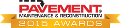 Pavement Awards logo from Pavement Maintenance & Reconstruction magazine