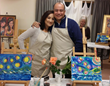Fine Artist Robbi Firestone launches Santa Fe Art Classes serving tourists and the Santa Fe community; the first weekly, guided painting class for beginners.