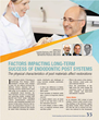 Factors Impacting Long-Term Success of Endodontic Post Systems