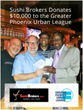 Sushi Brokers Donates to GPUL