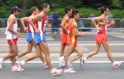 Walking Shoe Insoles and Racewalking
