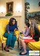 First Lady Michelle Obama discusses cooking and the First Family food preferences.