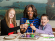 Mrs. Obama had a 5th birthday celebration for ChopChop and Let's Move!