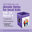 Champions for Kids Launches Snacks for Students Program in Walmart