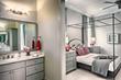 Americana Model Interior Master Bedroom