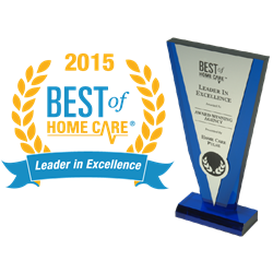 Best of Home Care Leader in Excellence Award