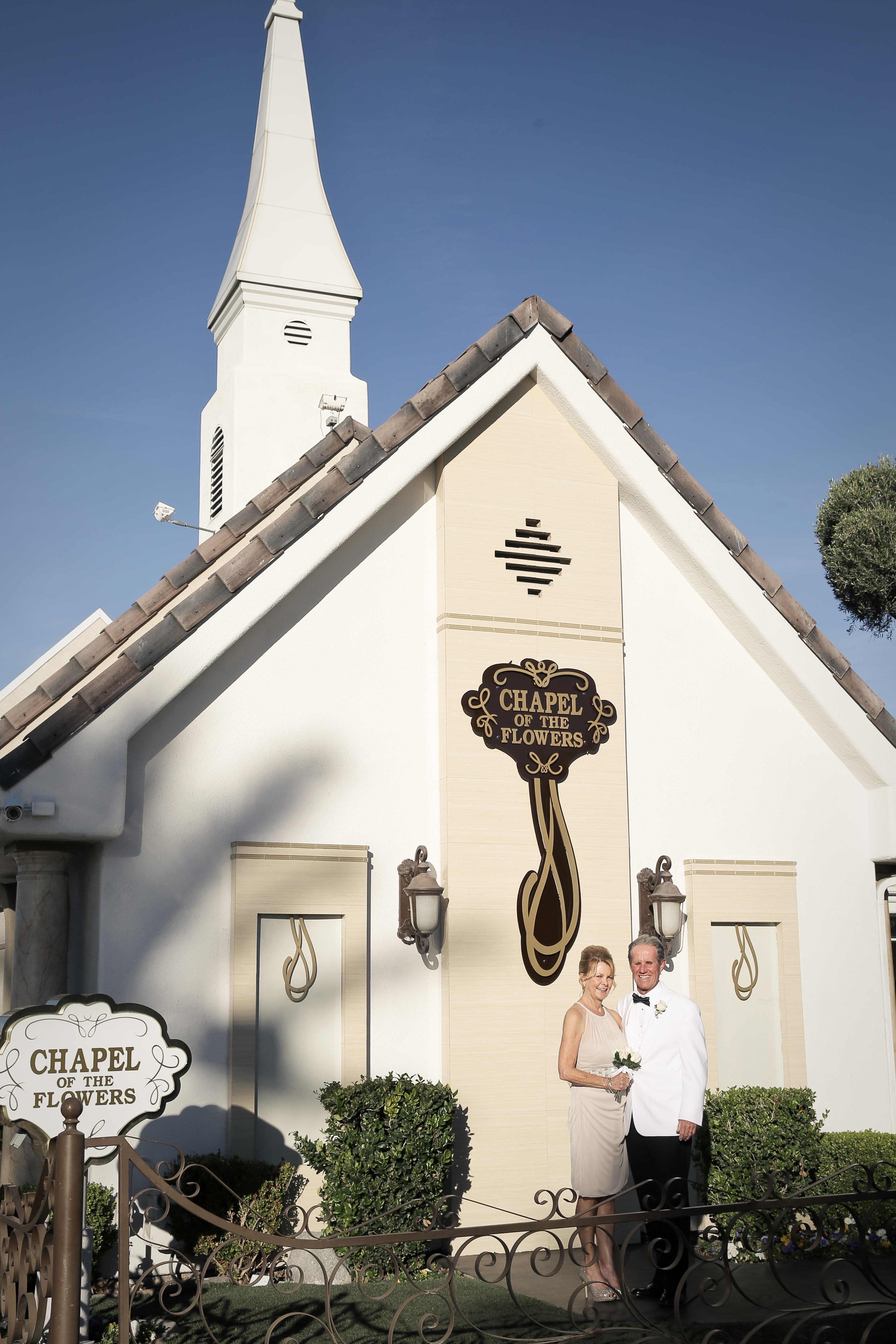 Historic Chapel of the Flowers in Las Vegas Celebrates Romance During Entire
