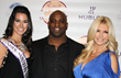 Lindsey Berman, Ricky Williams and Brande Roderick