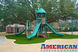 Brint Ryan Residence - Bigger is Better Commercial Play Structure - American Parks Company