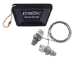 Earplugs, cord & case