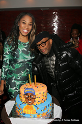 "Spike Lee & Monica ""Dollphace"" Floyd Welcome ""Da Sweet Blood of Jesus"" to NYC during All-Star Week"