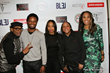 "Spike Lee with fellow EP Monica ""Dollphace"" Floyd and Karen Civil with cast members Snoop, Elvis and Zaraah"