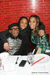 """Executive Producers Spike Lee and Monica """"Dollphace"""" Floyd with cast member Snoop of """"Da Sweet Blood of Jesus"""""""