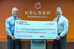 Kelser Charity Challenge Check Presentation
