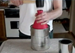 Seal a paint can with just one hit from a hammer.  It's perfect for anyone to use.